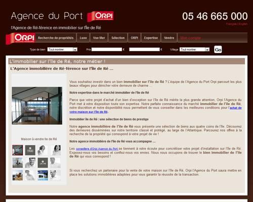 L agence du port une agence immobili re de confiance sur - Agence immobiliere port marianne ...