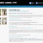 vente et installation de porte blindee sur Lyon