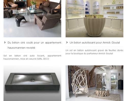 choisir le b ton cir pour une d coration int rieure ou ext rieure immobilier ressources et. Black Bedroom Furniture Sets. Home Design Ideas